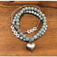 Armband Geschenkset be my Valentine