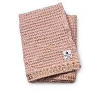 Elodie Details Cotton Waffle Blanket-Gilded powder