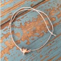 truffleroom Armband mit rose vergoldetem Stern