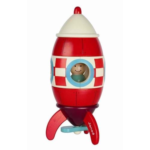 Janod Magnetset Rakete groß