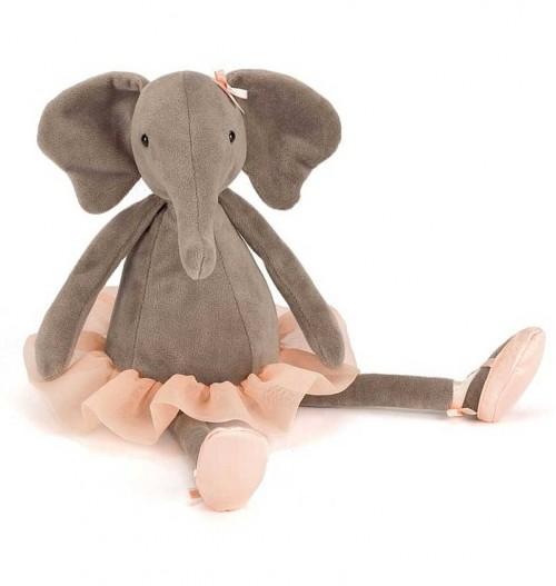 Dancing Darcey Elephant von Jellycat (groß)