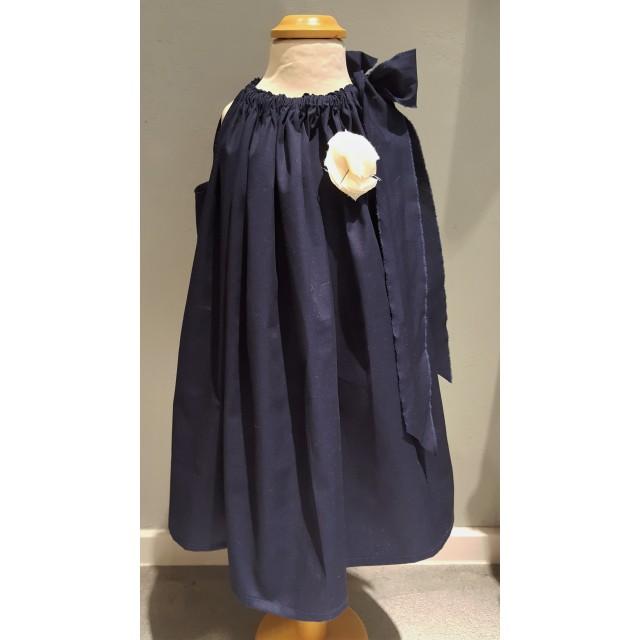 Madchen kleid dunkelblau